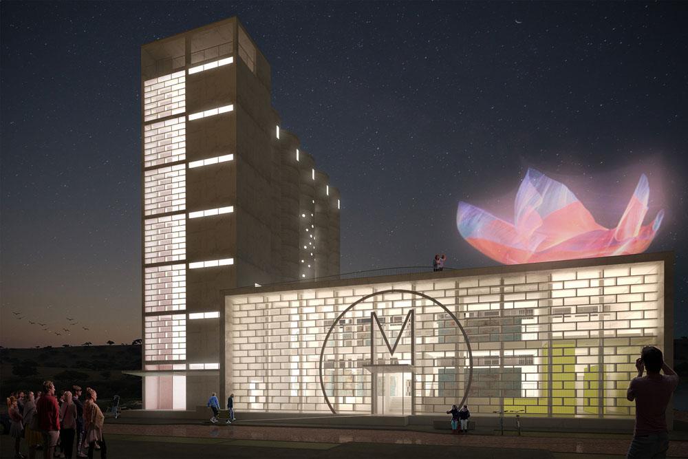 """Projeto """"Museu Zero"""" - Pedro Silva Arquitectos em Santa Catarina da Fonte do Bispo, Tavira, Algarve"""