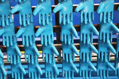 Ansell produz luvas de proteção industrial